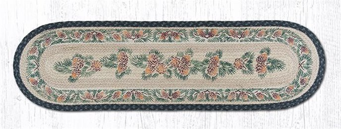 """Pinecone Oval Braided Runner 13""""x48"""" Thumbnail"""