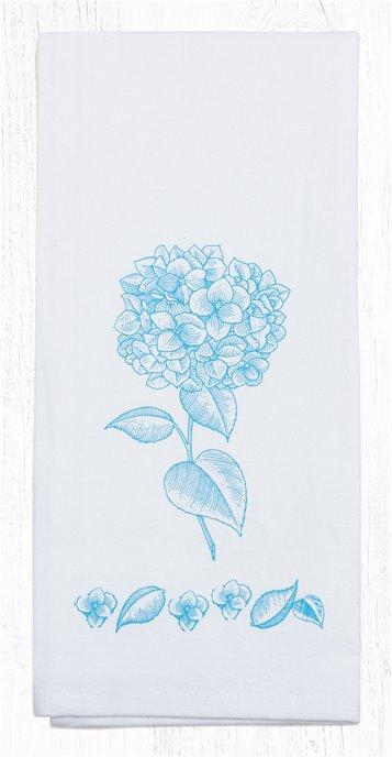 "Hydrangea Cotton Tea Towels 20""x28"" Thumbnail"