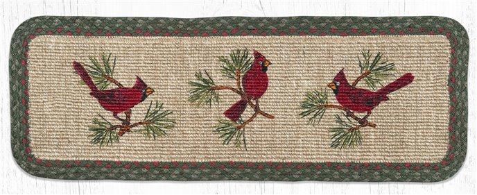 "Cardinal Wicker Weave Braided Table Runner 13""x36"" Thumbnail"