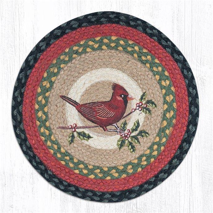 """Cardinal Round Braided Chair Pad 15.5""""x15.5"""" Thumbnail"""