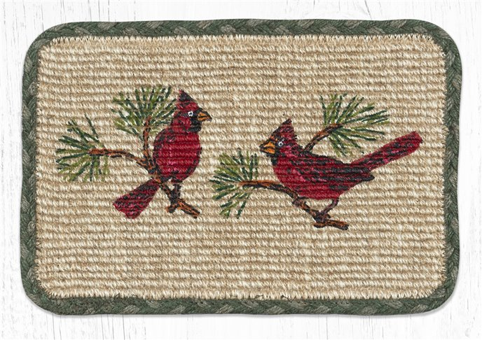 "Cardinal Wicker Weave Braided Swatch 10""x15"" Thumbnail"