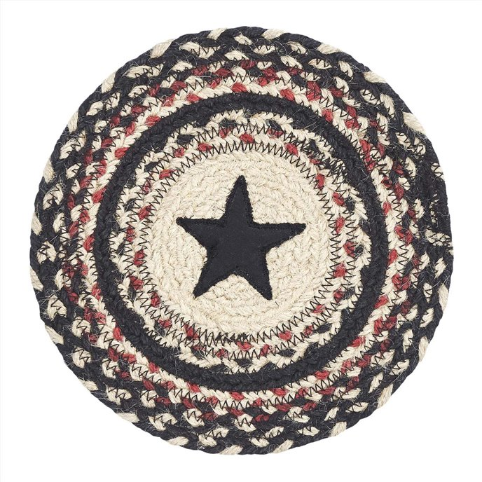 Colonial Star Jute Trivet 8 Thumbnail