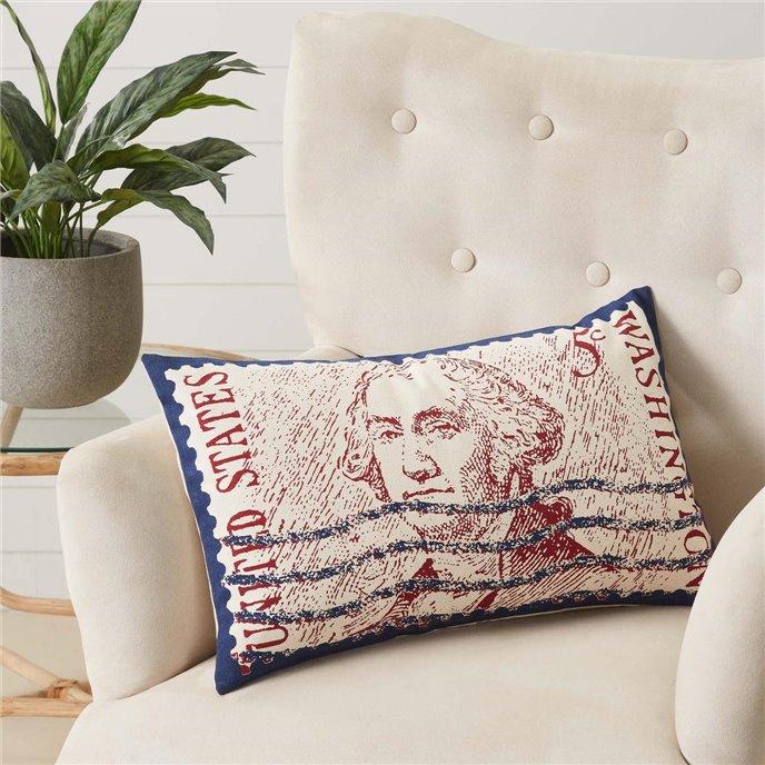 George Washington Pillow 14x22 Thumbnail