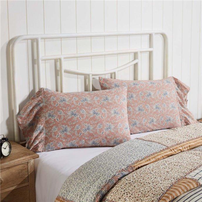 Kaila Ruffled Standard Pillow Case Set of 2 21x26+8 Thumbnail
