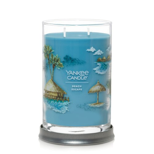 Yankee Candle Beach Escape Large 2 Wick Cylinder Tumbler Candle Thumbnail