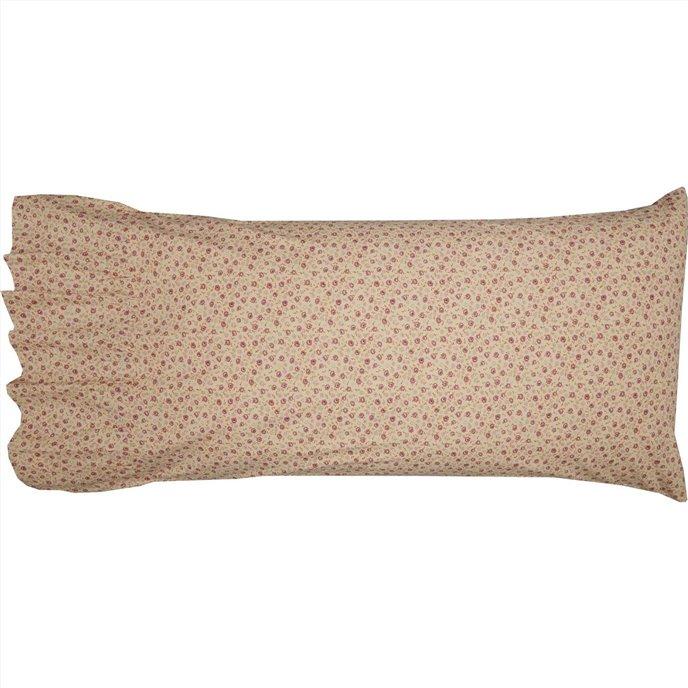 Camilia Ruffled King Pillow Case Set of 2 21x36+8 Thumbnail