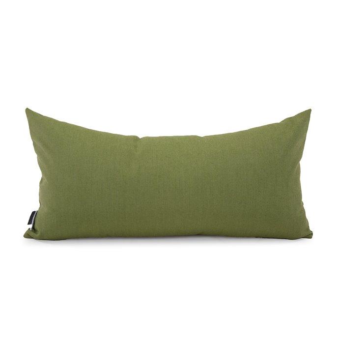 Howard Elliott Kidney Pillow Outdoor Sunbrella Seascape Moss Thumbnail