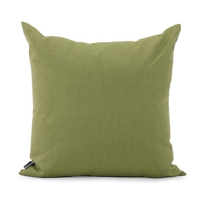 "Howard Elliott 20"" x 20"" Pillow Outdoor Sunbrella Seascape Moss Thumbnail"
