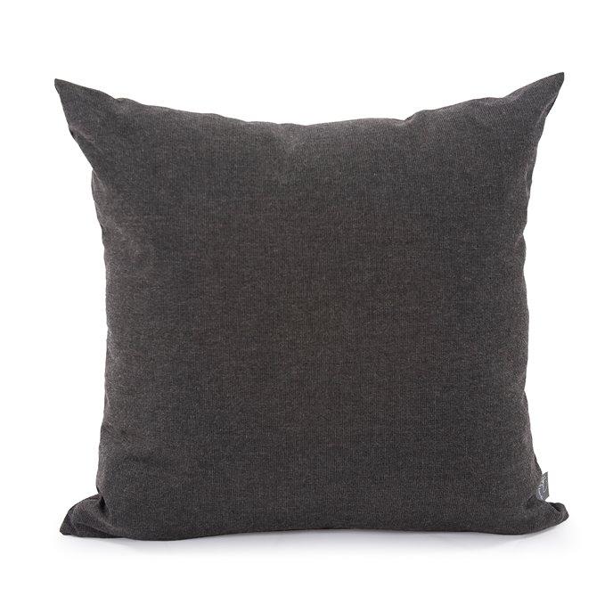 "Howard Elliott 20"" x 20"" Pillow Outdoor Sunbrella Seascape Charcoal Thumbnail"