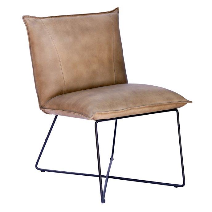 Howard Elliott Neeko Leather Chair Thumbnail