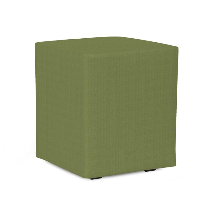 Howard Elliott Universal Cube Cover Sunbrella Outdoor Seascape Moss - Cover Only, Base Not Included Thumbnail