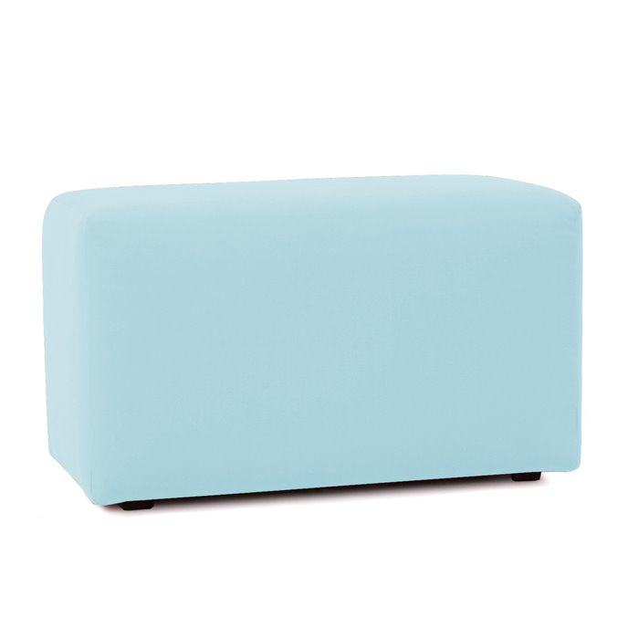 Howard Elliott Universal Bench Cover Sunbrella Outdoor Seascape Breeze - Cover Only, Base Not Included Thumbnail