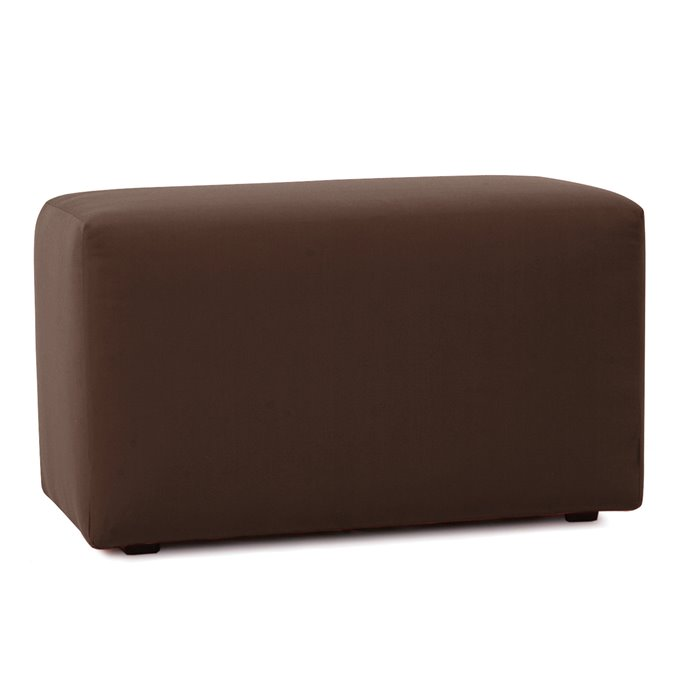 Howard Elliott Universal Bench Cover Sunbrella Outdoor Seascape Chocolate - Cover Only, Base Not Included Thumbnail