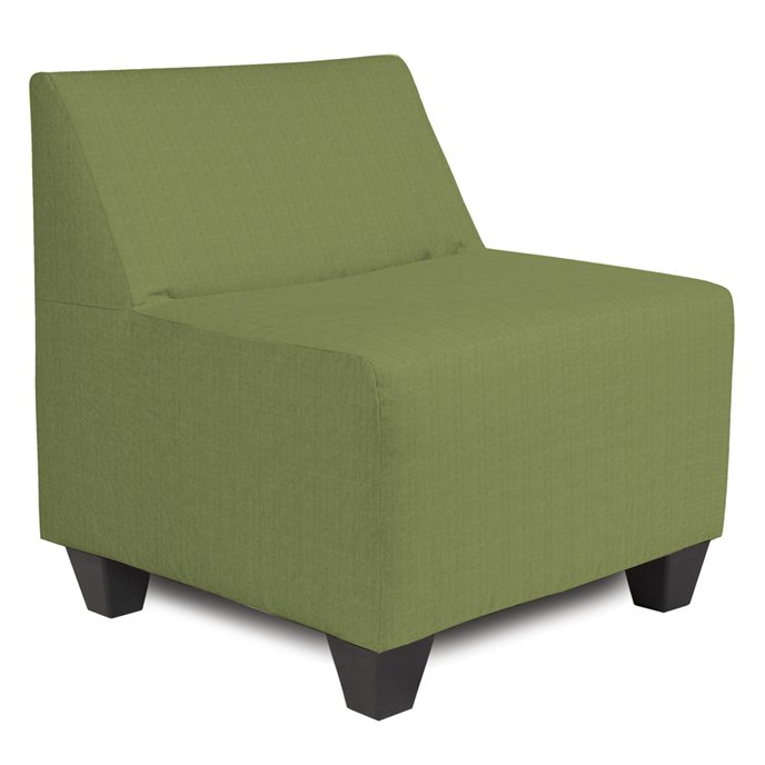 Howard Elliott Pod Chair Cover Sunbrella Outdoor Seascape Moss - Cover Only, Cushion and Frame Not Included Thumbnail