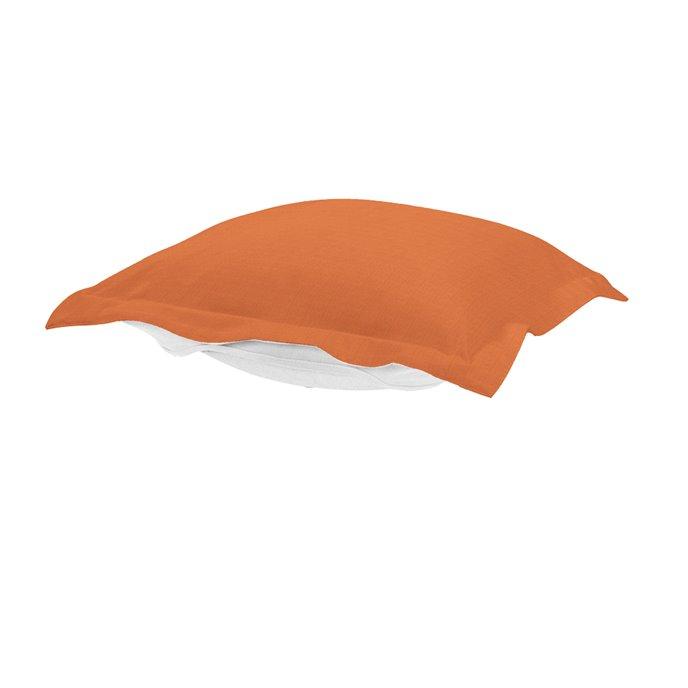 Howard Elliott Puff Chair Ottoman Outdoor Sunbrella Seascape Canyon Cushion and Cover Thumbnail