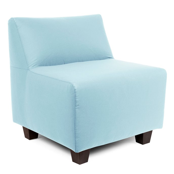 Howard Elliott Pod Chair Cover Sunbrella Outdoor Seascape Breeze - Cover Only, Cushion and Frame Not Included Thumbnail