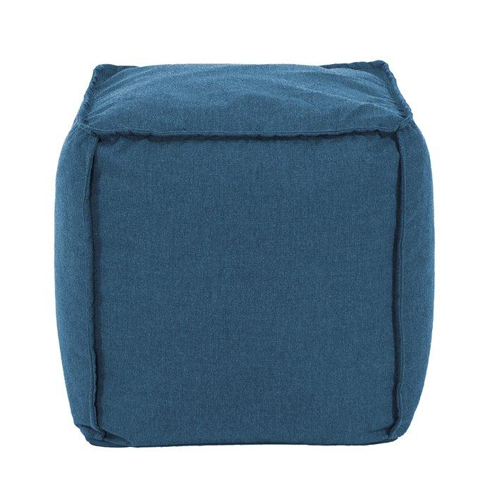 Howard Elliott Square Pouf Seascape Turquoise Thumbnail