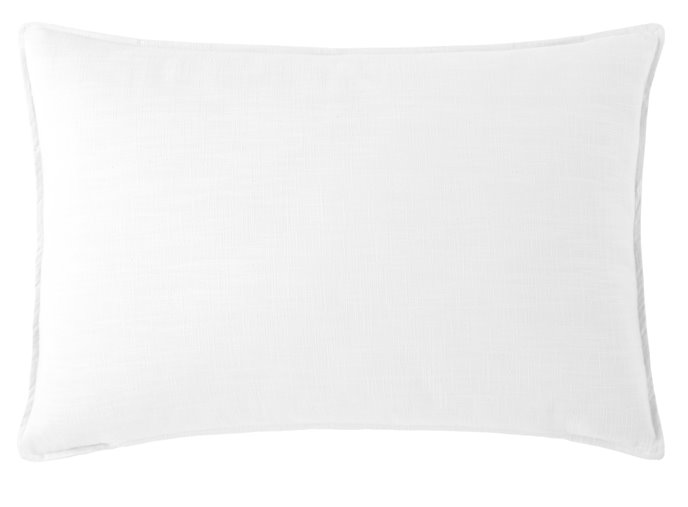 Cambric White Pillow Sham King Thumbnail