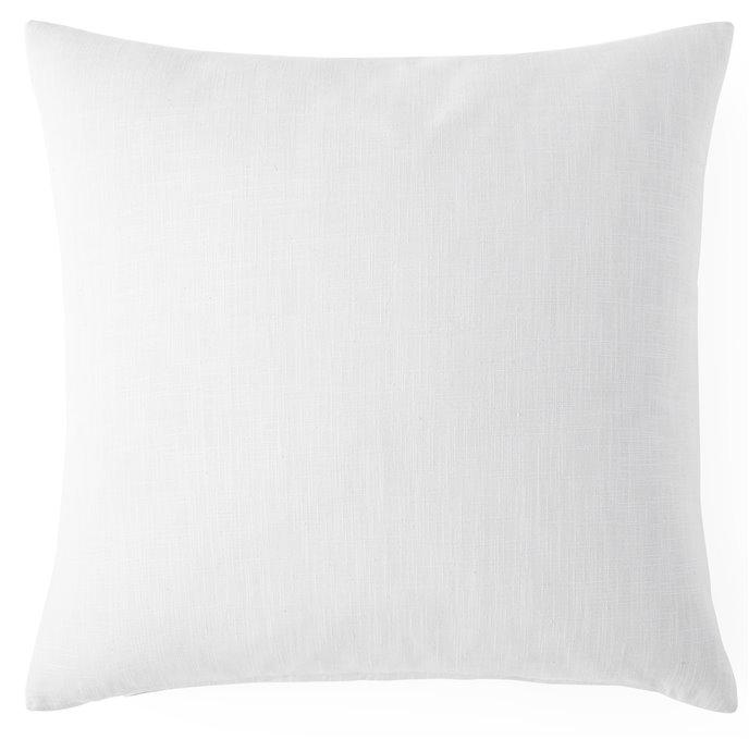 "Cambric White Square Cushion 20""x20"" Thumbnail"