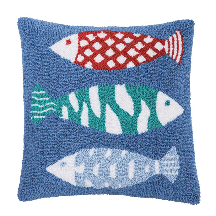 Harpswell Fish Pillow Thumbnail
