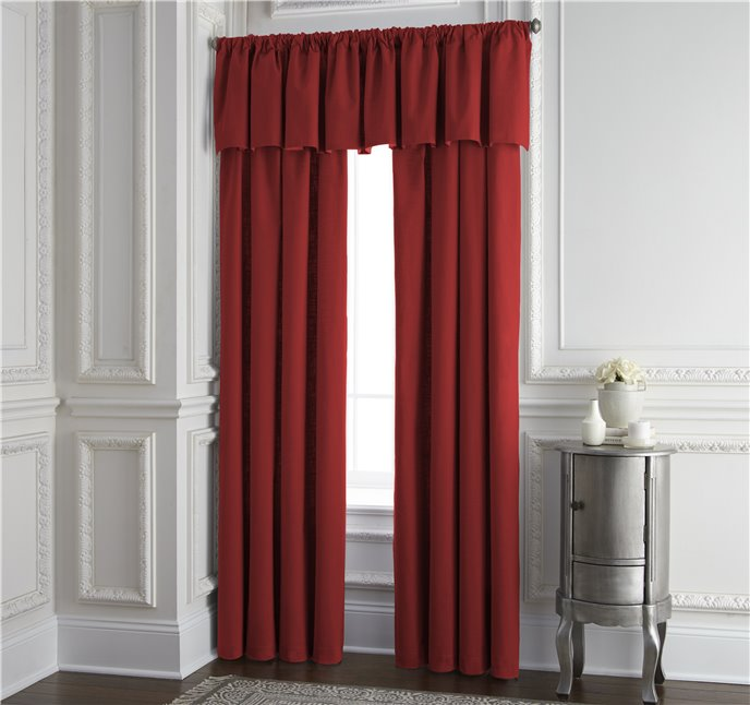 """Cambric Red Lined Drapery Panel 52""""x108"""" - Each Thumbnail"""