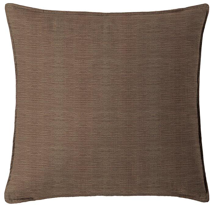 "McGregor Chocolate Square Pillow 18""x18"" Thumbnail"