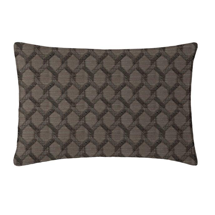 Malden Charcoal Pillow Sham King Thumbnail