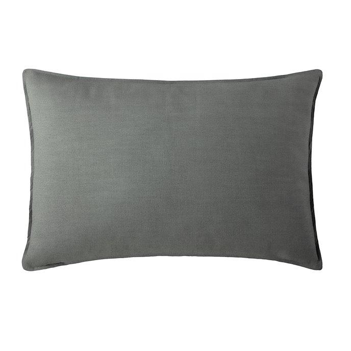 Harrow Charcoal Pillow Sham King Thumbnail