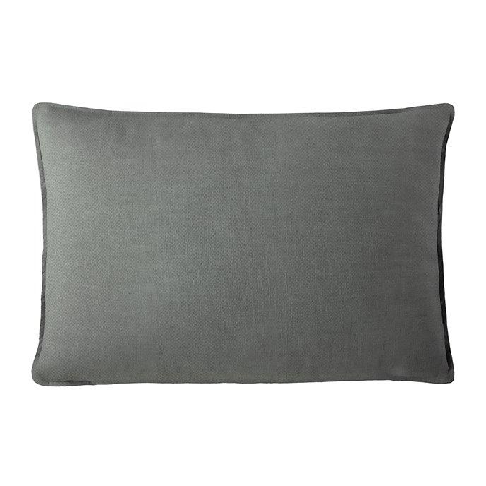 "Harrow Charcoal Rectangle Pillow 14""x42"" Thumbnail"
