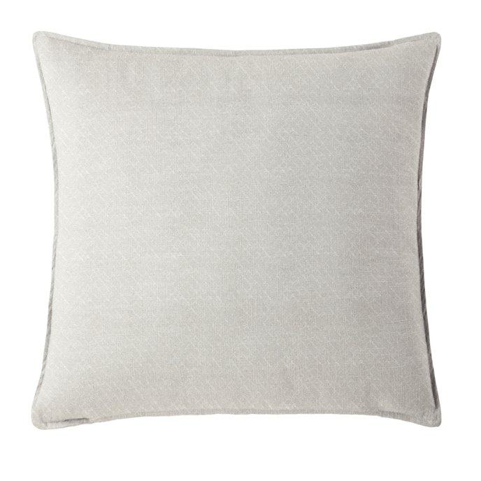 "Gosfield Vanilla Square Pillow 18""x18"" Thumbnail"