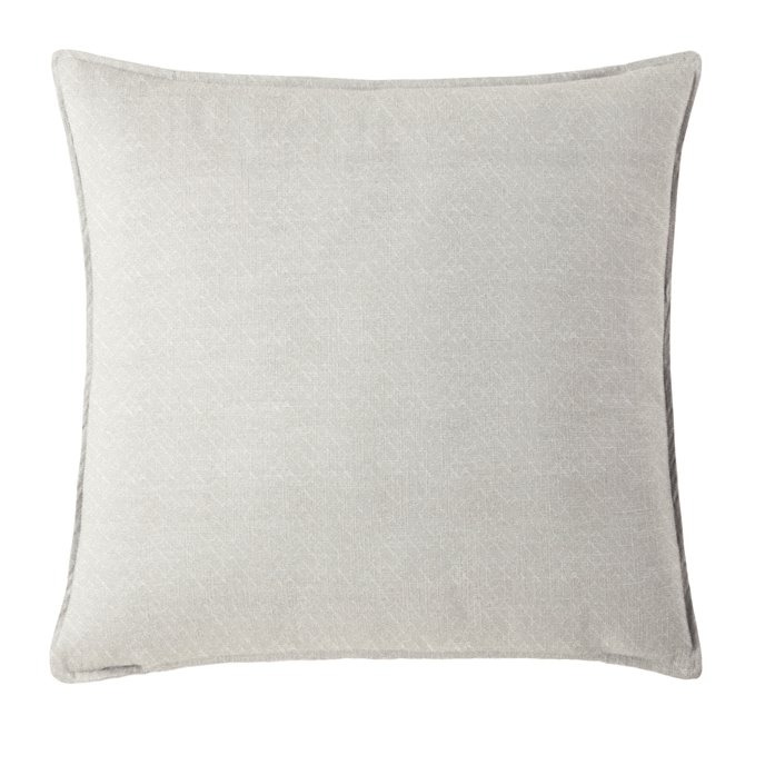 "Gosfield Vanilla Square Pillow 20""x20"" Thumbnail"