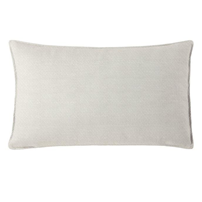 "Gosfield Vanilla Rectangle Pillow 14""x42"" Thumbnail"