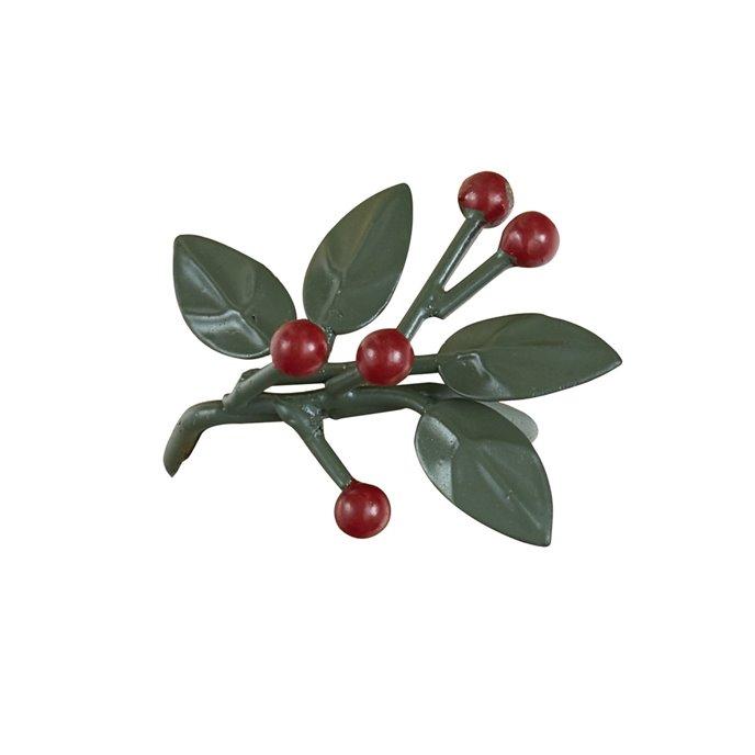 Leaves & Berries Napkin Ring Thumbnail