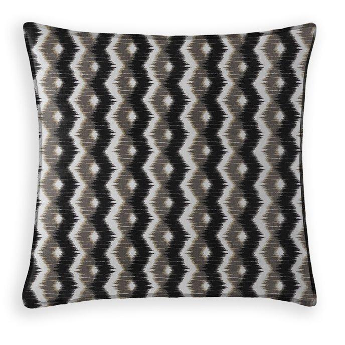 Nelson Decorative Cushion - 20 Inch Square - Coordinating Velvet Thumbnail
