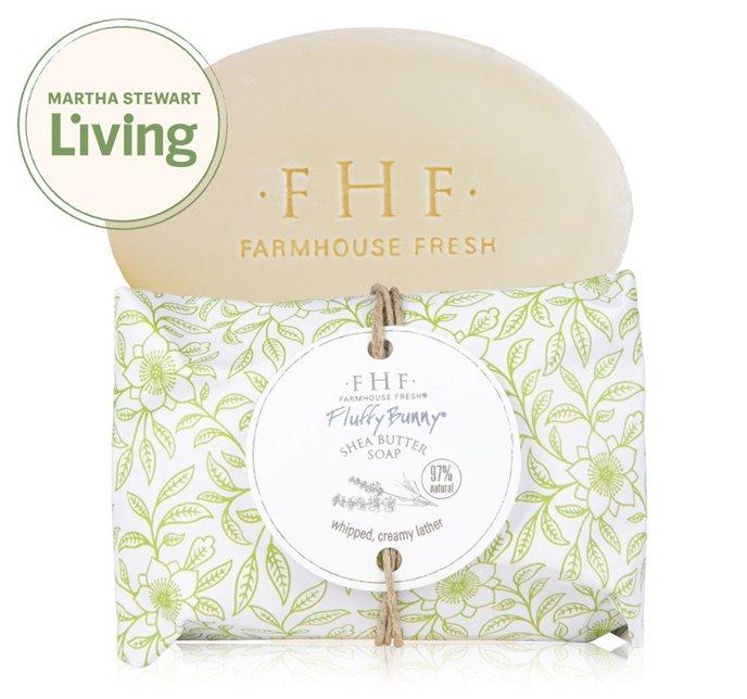Farmhouse Fresh Fluffy Bunny Shea Butter Soap Thumbnail