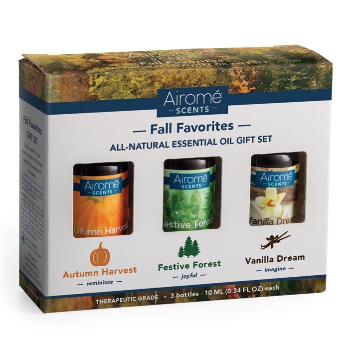 Airomé Fall Favorites Essential Oil Set (3 X 10ml) 100% Pure Thumbnail