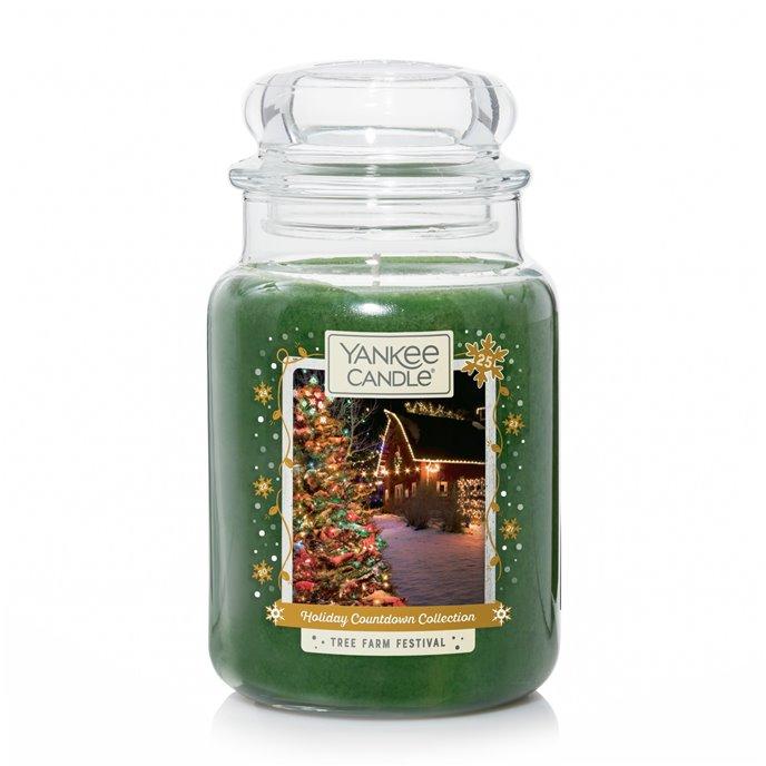 Yankee Candle Tree Farm Festival Large Jar Candle Thumbnail