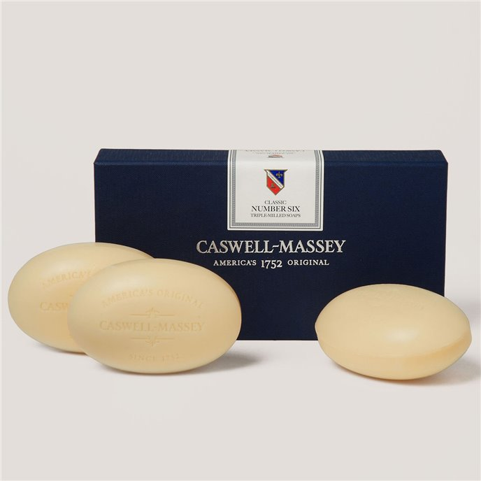 Caswell-Massey Number Six Bath Soap set Thumbnail