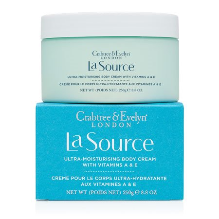 Crabtree & Evelyn La Source Ultra-moisturising Body Cream with Vitamins A & E (8.8 oz., 250g) Thumbnail