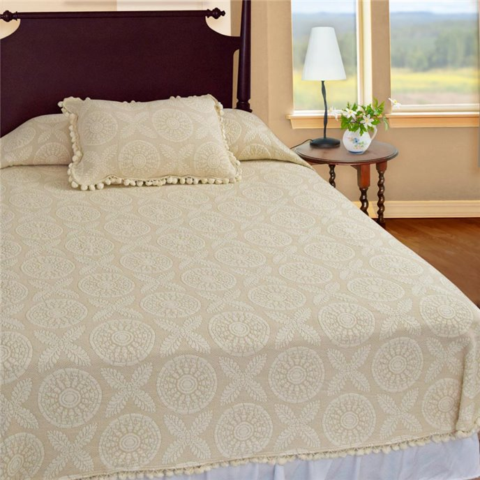 Heirloom Twin Antique Coverlet Thumbnail