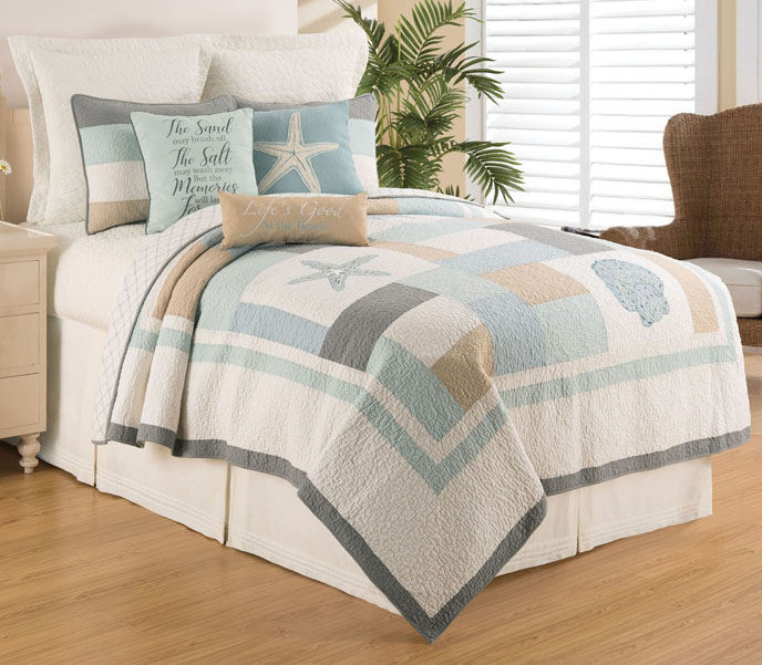 Driftwood Shores Twin Quilt Set Thumbnail