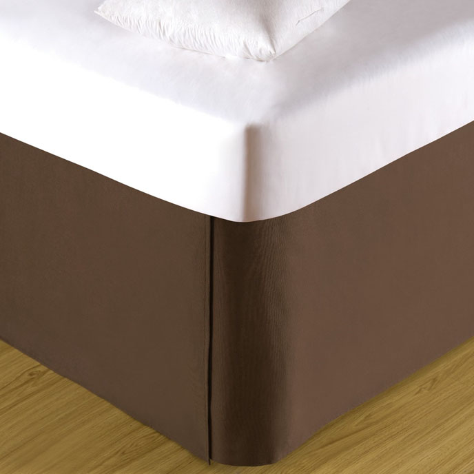 Cocoa Twin Bed Skirt Thumbnail