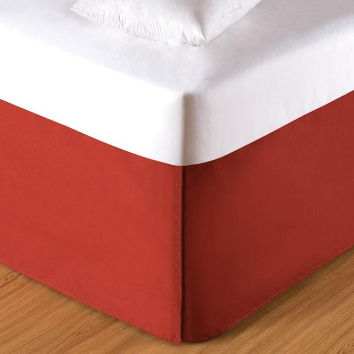 Paprika King Bed Skirt Thumbnail