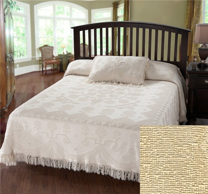 George Washington Bedspread Twin Antique Thumbnail