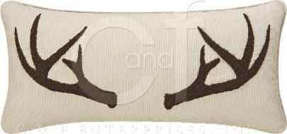 Antler Tufted Pillow Thumbnail