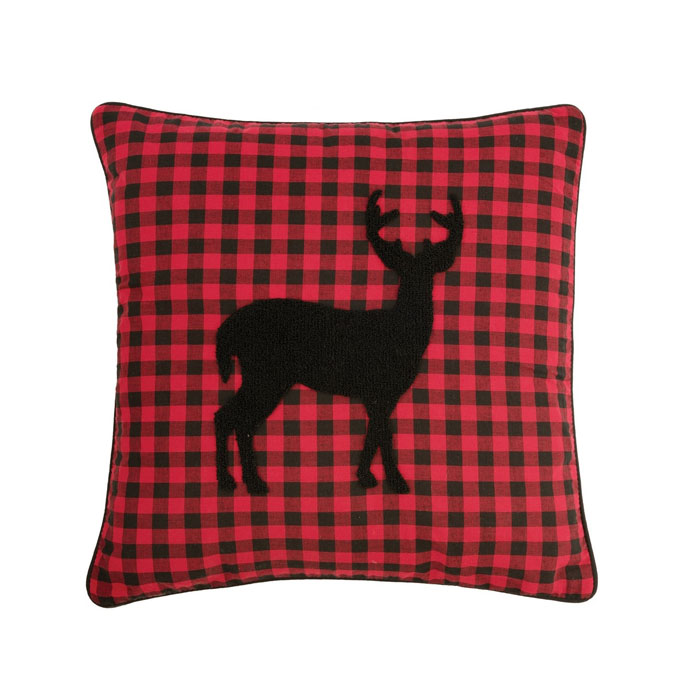 Woodford Deer Pillow Thumbnail