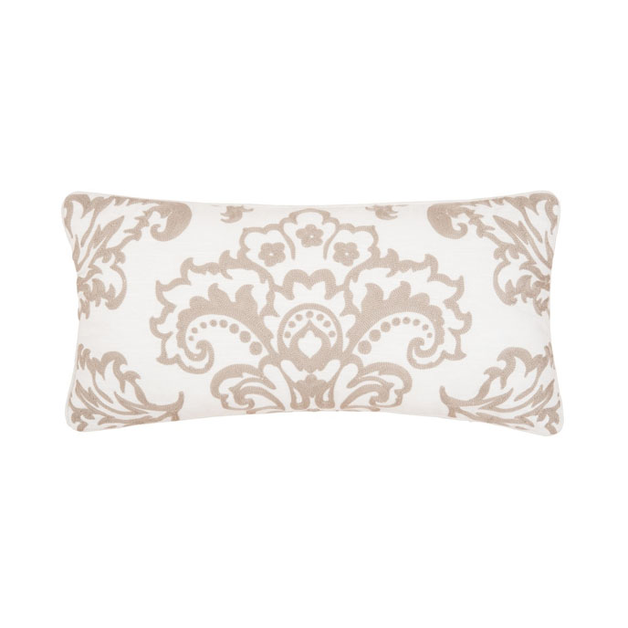 Rosamund Damask Pillow Thumbnail