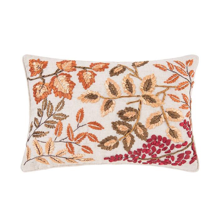 Falling Leaves Pillow Thumbnail