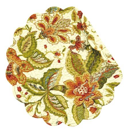 Amelia Round Quilted Placemat Thumbnail