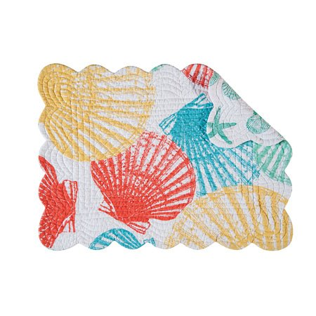 Captiva Island Rectangular Quilted Placemat Thumbnail